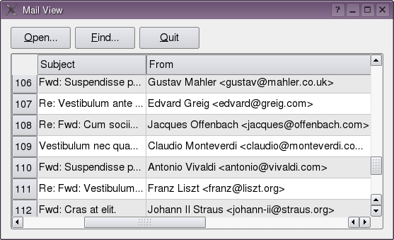Mailview