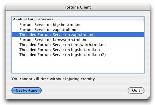 Fortune client